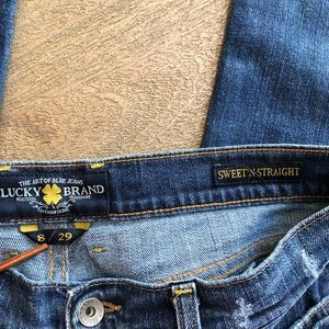 Lucky Brand Jeans - Lucky Brand Sweet N' Straight Denim Jeans 8 / 29W